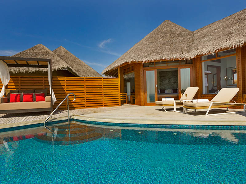 Baros Maldives Water Pool Villa